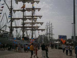 Entre los días 27 y 31 de Julio tuvo lugar en Cádiz la Tall Ships 2016, que contó con la participación de un gran número de grandes veleros.
