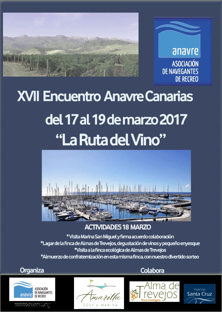 XVII encuentro ANAVRE la ruta del vino