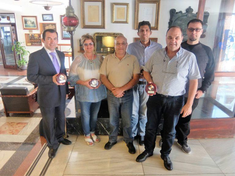 Anavre recibe una metopa RCN Tenerife