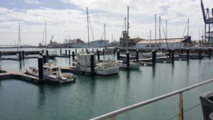 Nautica de Recreo Andalucia Puerto fantasma Cadiz