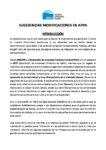 SUGERENCIA MODIFICACIONES APPA ANDALUCÍA